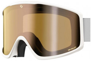 Matte White (Lens: Double Gold Mirror)-swatch